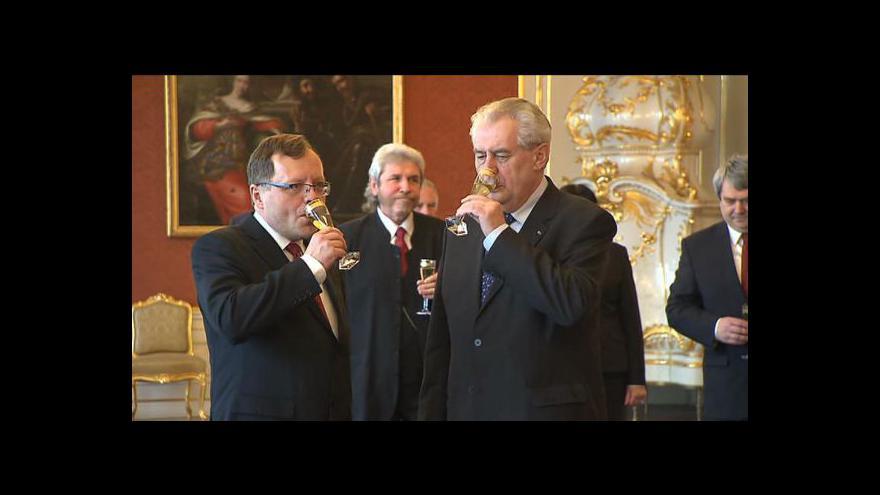Video Reportáž Terezy Strnadové o novém šéfovi NKÚ