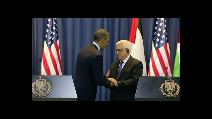 Video Obama: mír na Blízkém východě je možný