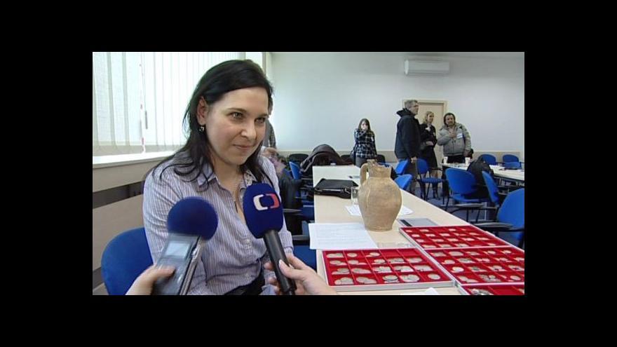 Video Šárka Grossmannová a Pavel Kouřil komentují zatajený nález
