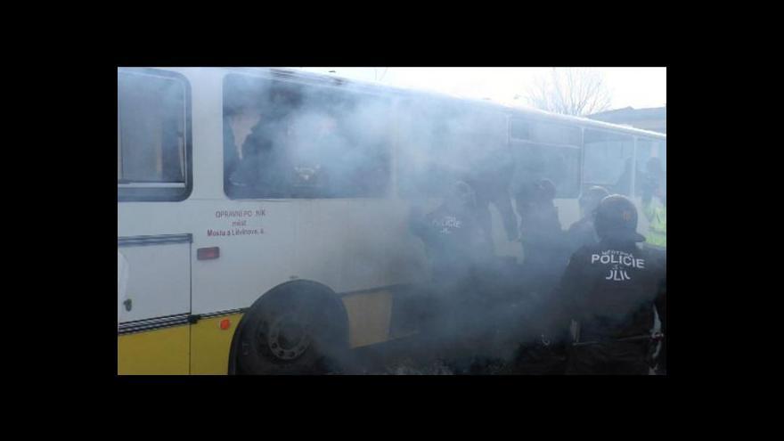 Video Petr Baraňák o policejním cvičení