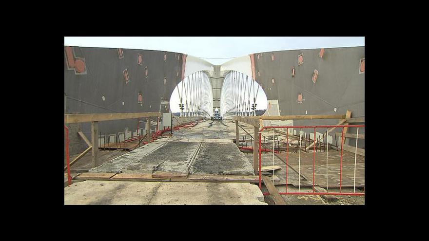 Video Oldřich Borůvka o stavbě Trojského mostu