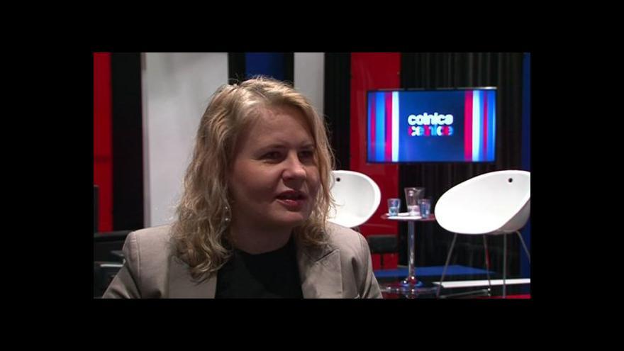 Video Producentka a autorka námětu Tina Diosi o přípravách pořadu Celnice
