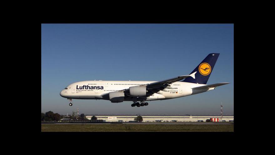 Video Stávka Lufthansy znamenala problém pro 50 tisíc cestujících