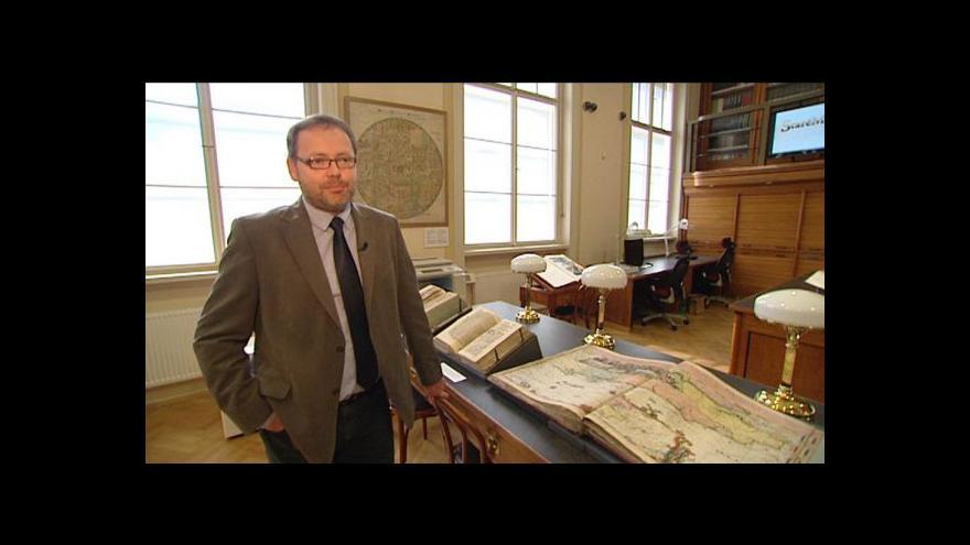 Video Reportáž Maria Kubaše o sbírce katedry geografie UK