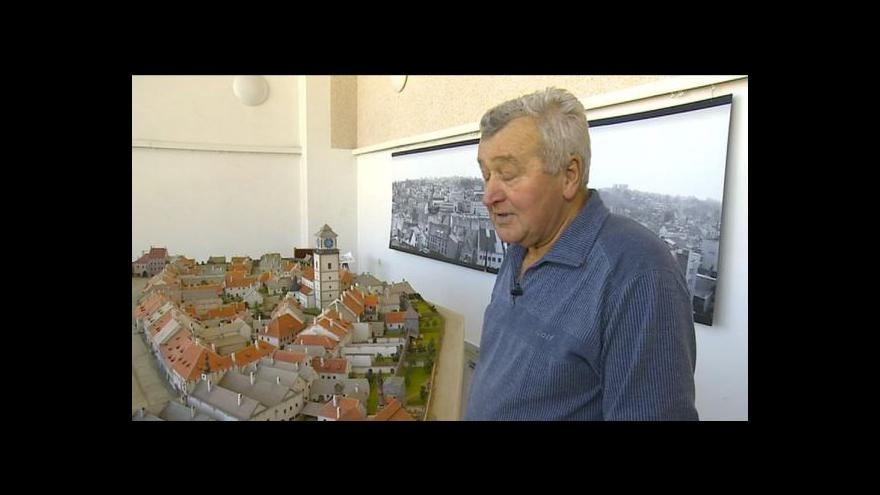 Video Radovan Daněk o modelu Třebíče