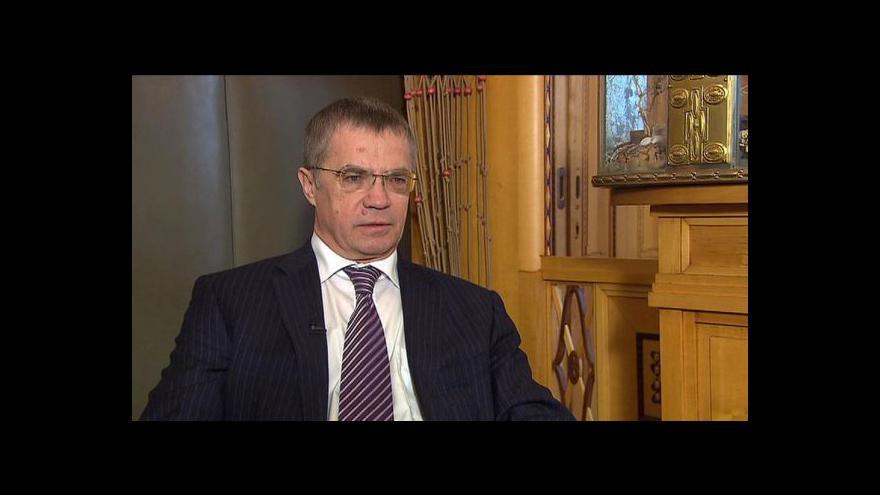 Video Rozhovor s Alexanderem Medvěděvem