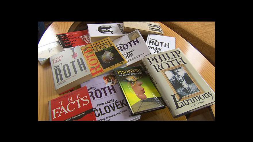 Video Spisovatel Roth slaví 80 let