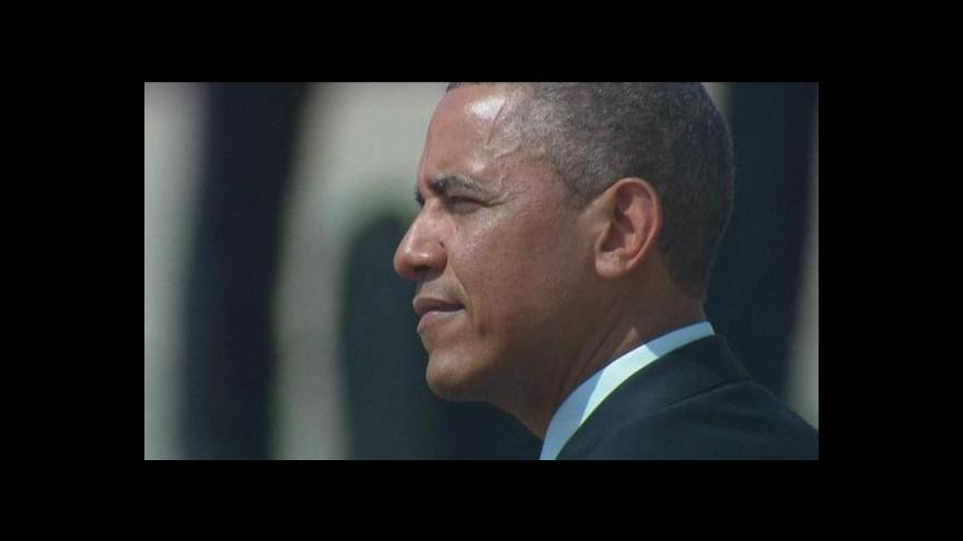Video Barack Obama dorazil do Izraele