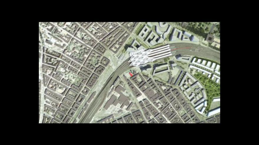 Video Ve Vídni vzniká nové nádraží