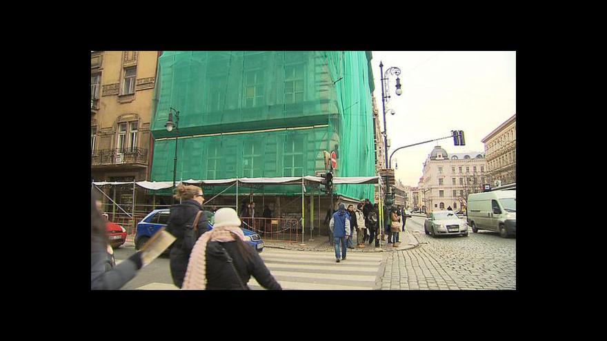 Video Rekonstrukce paláce Na Kocandě