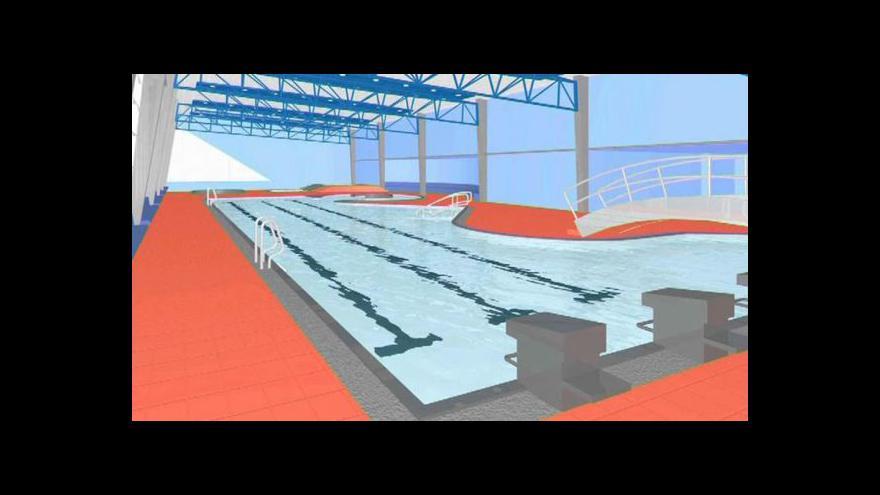 Video Bazén v Brušperku místní chtějí