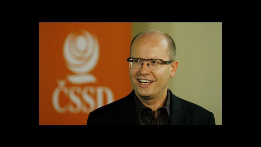 Video Rozhovor s Bohuslavem Sobotkou v Událostech, komentářích