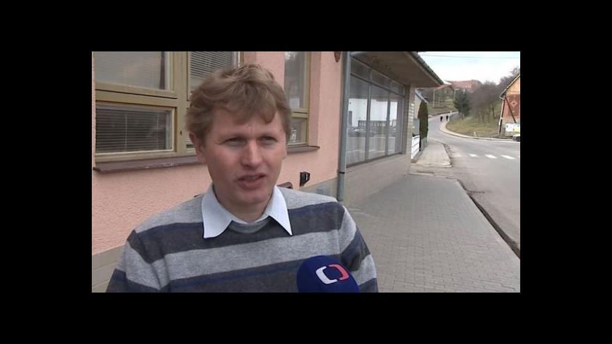 Video Hovoří starosta Zlámance Jiří Chmela