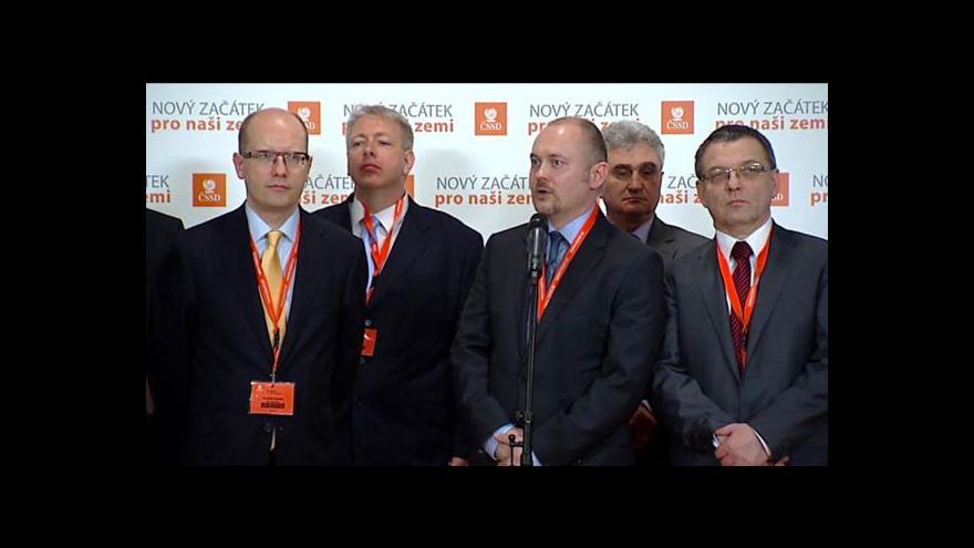 Video ČSSD proti živnostníkům a komunistům