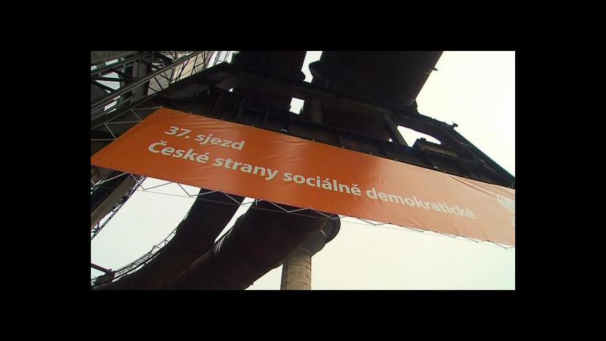 Video Volební sjezd ČSSD tématem Událostí