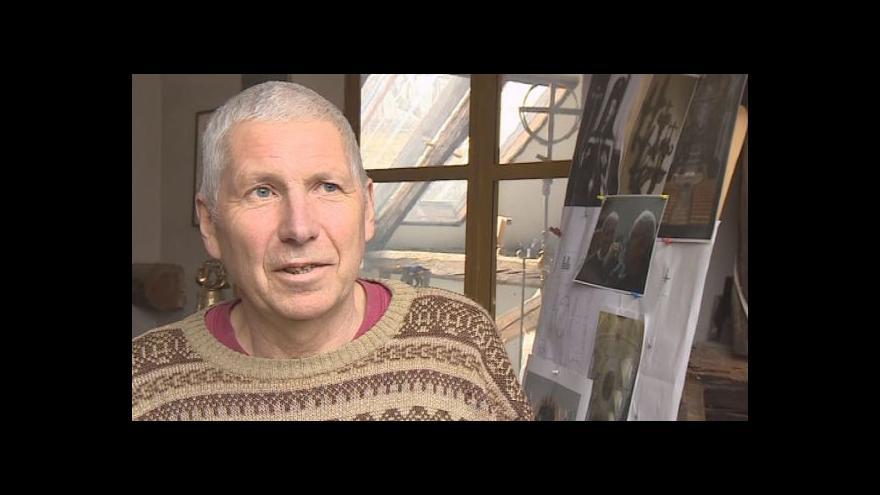 Video Velehradský sochař Otmar Oliva vzpomíná na život za minulého režimu