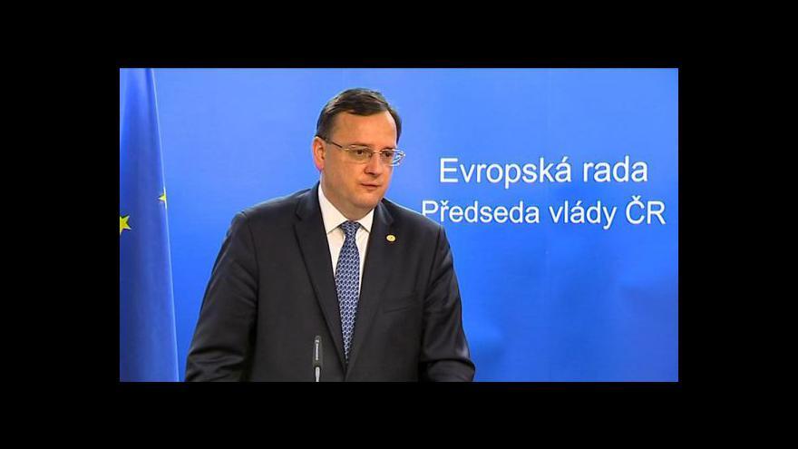 Video Telefonát Bohumila Vostala a vyjádření Petra Nečase