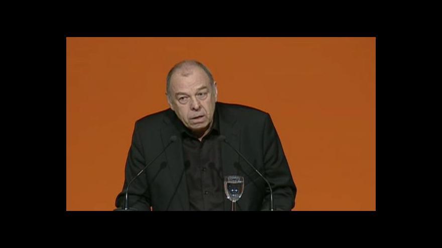 Video Jaroslav Zavadil na sjezdu ČSSD