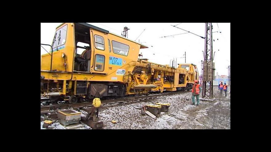 Video Modernizace železničního koridoru