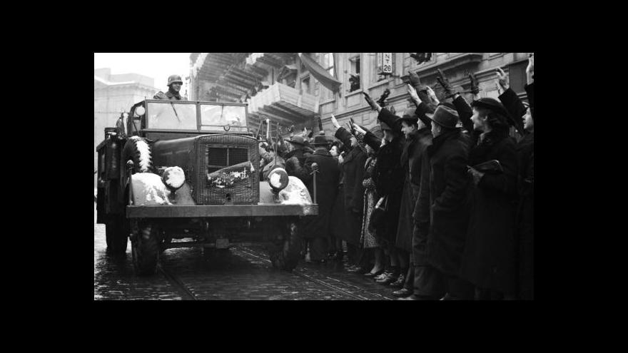 Video 75 let od okupace v roce 1939