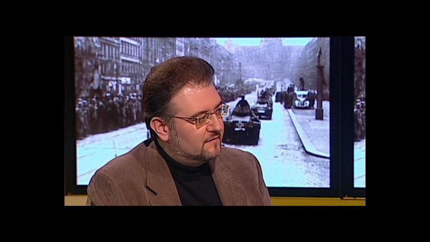 Video Rozhovor s historikem Karlem Strakou