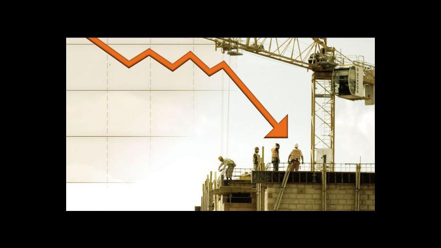 Video Český průmysl a stavebnictví se dál propadají