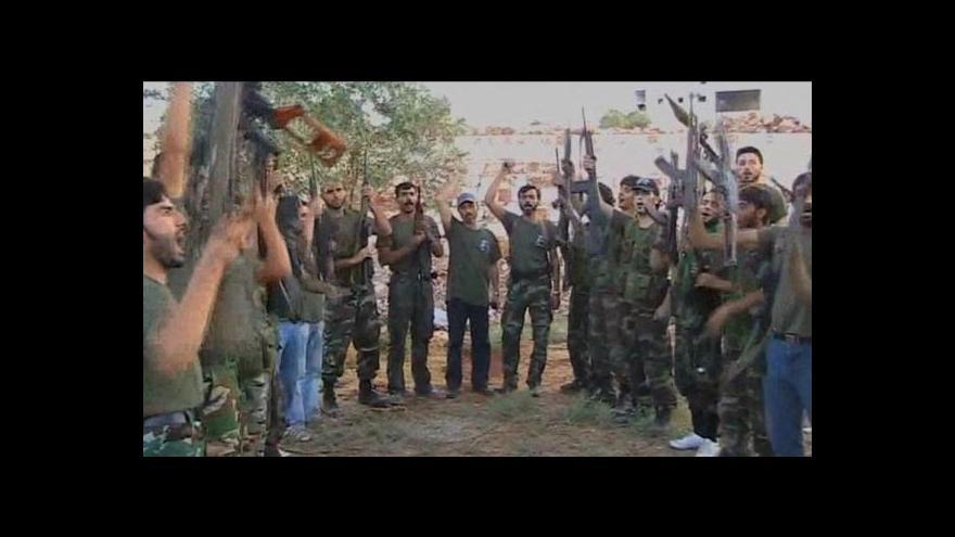 Video Syrský boj proti režimu trvá už dva roky