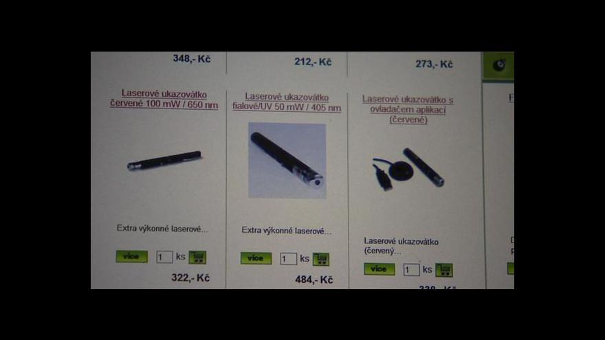 Video Laser: nebezpečí pro piloty