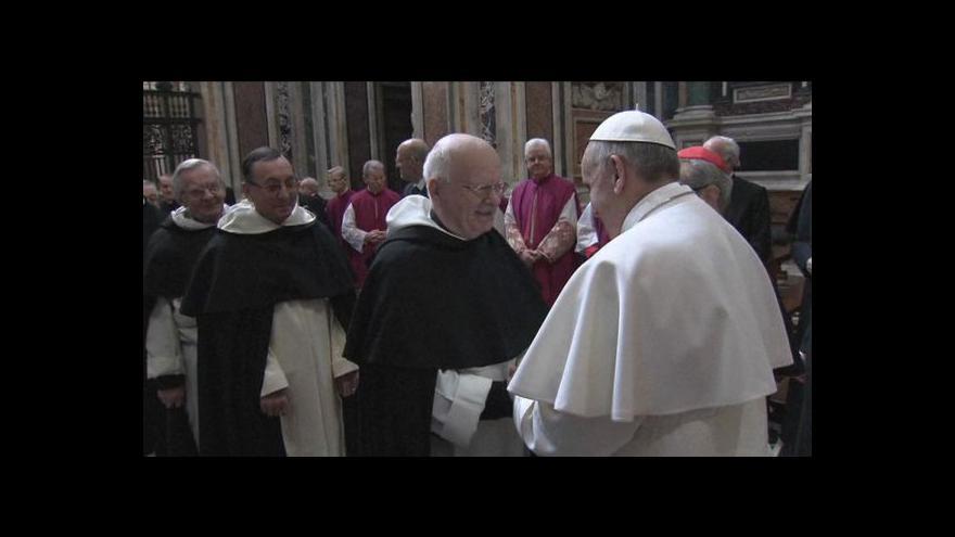 Video Papež začal úřadovat (16:00)