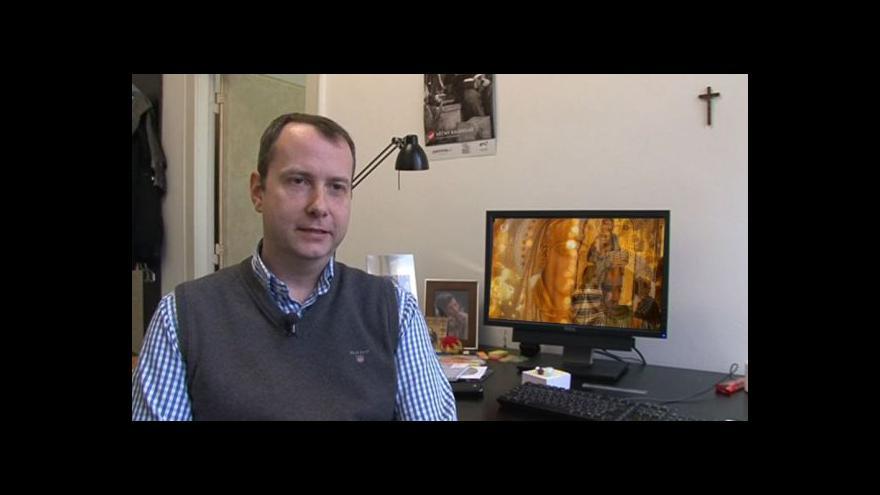 Video Rozhovor s vedoucím náboženské tvorby Patrickem Divišem