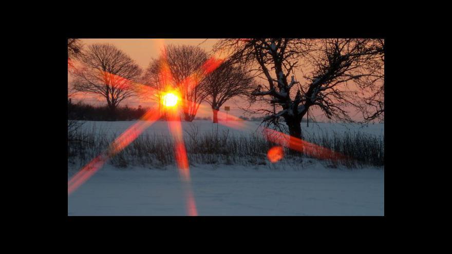 Video Předpověď počasí a rozhovor s meteoroložkou Tobolovou