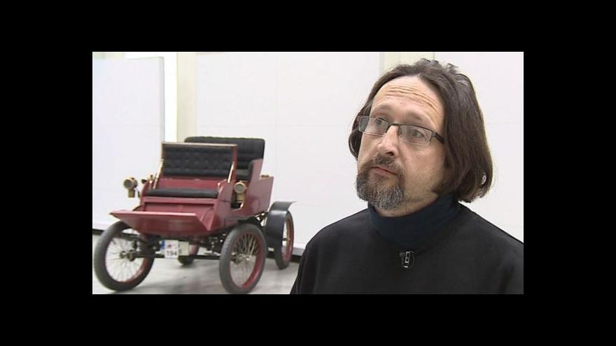 Video Ředitel aukční síně Jiří Mewald mluví o významu locomobilu