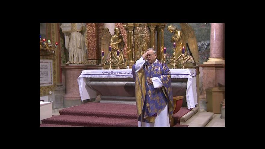 Video Oslava nového papeže na Svatém Hostýně