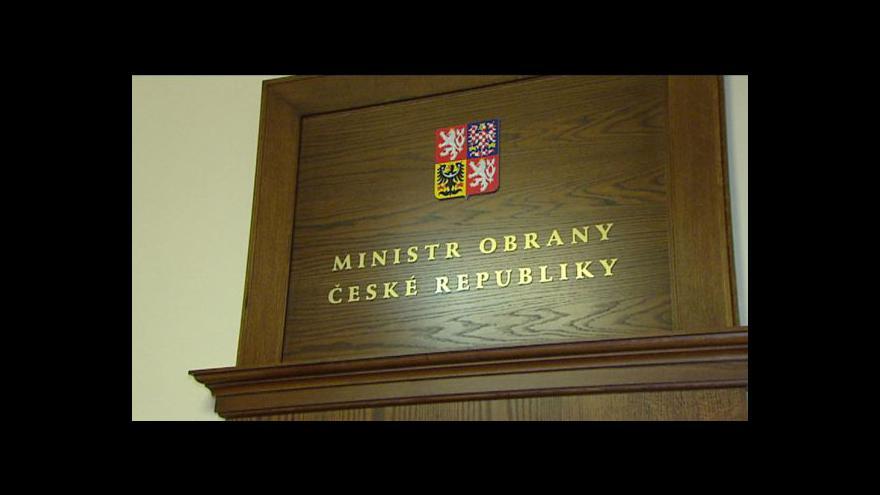 Video Ministrem obrany má být Vlastimil Picek