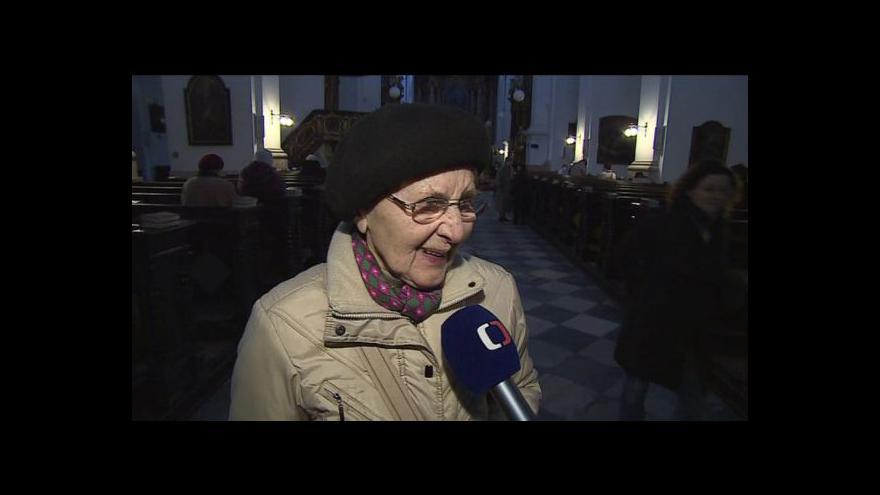 Video Reakce Brňanů na zvolení nového papeže