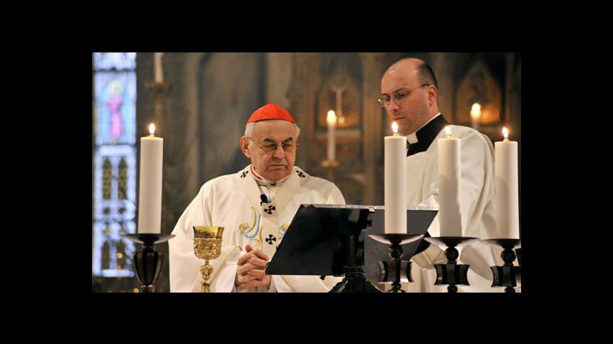 Video Rozhovor s kardinálem Vlkem