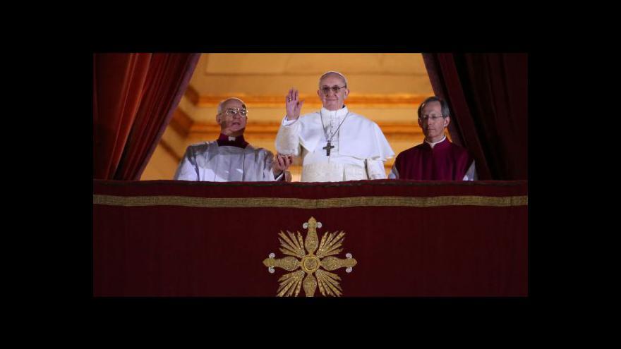 Video První české reakce na zvolení nové hlavy církve