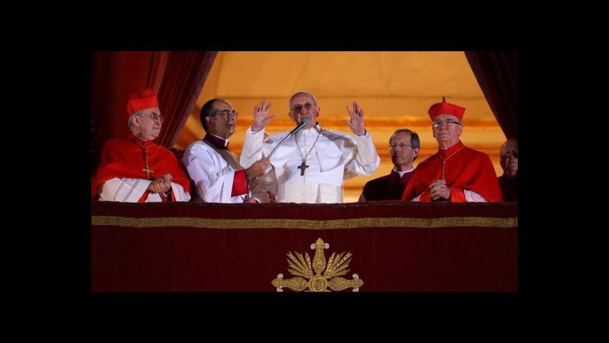 Video Požehnání papeže Františka
