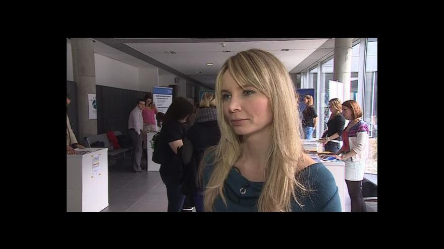 Video Veletrh Jobfair si pochvalují studenti i zaměstnavatelé