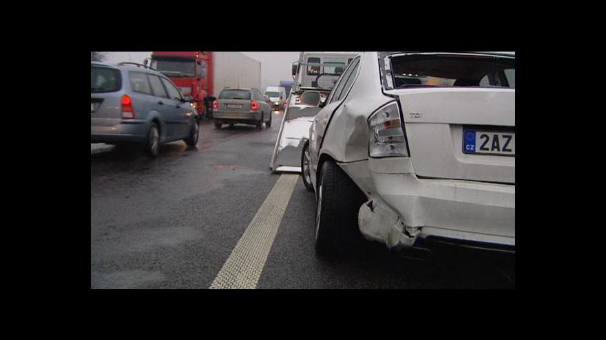 Video Michal Klokočník o nehodách na Chrudimsku