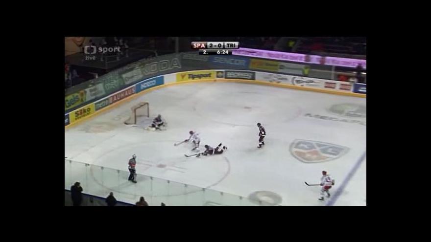 Video Peterek snížil na 2:1 (33. min.)