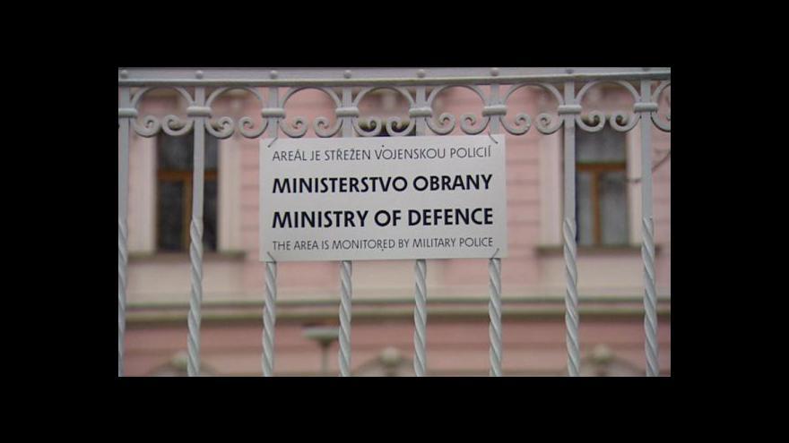 Video Reportáž o hledání ministra obrany