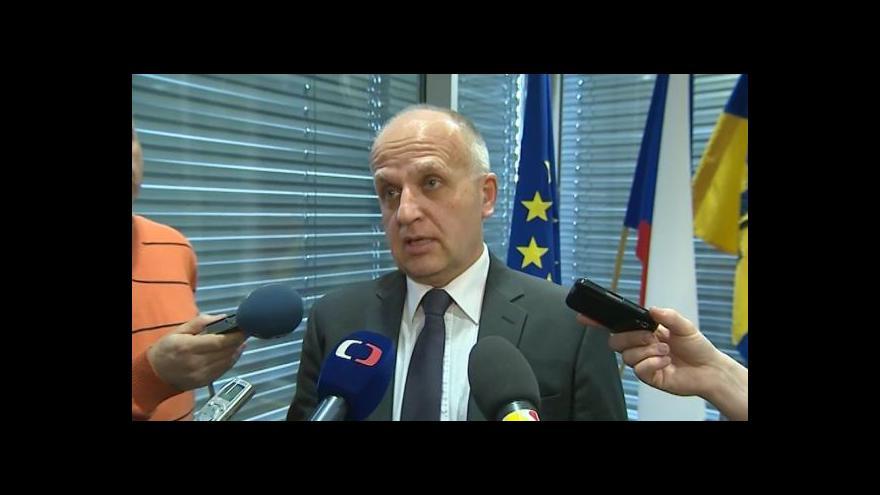 Video Náměstek Lubomír Nečas a hejtman Stanislav Mišák