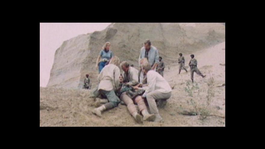 Video Reportáž o únosu Čechů v Angole