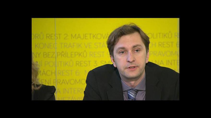 Video Protikorupční organizace prosazují Rekonstrukci státu