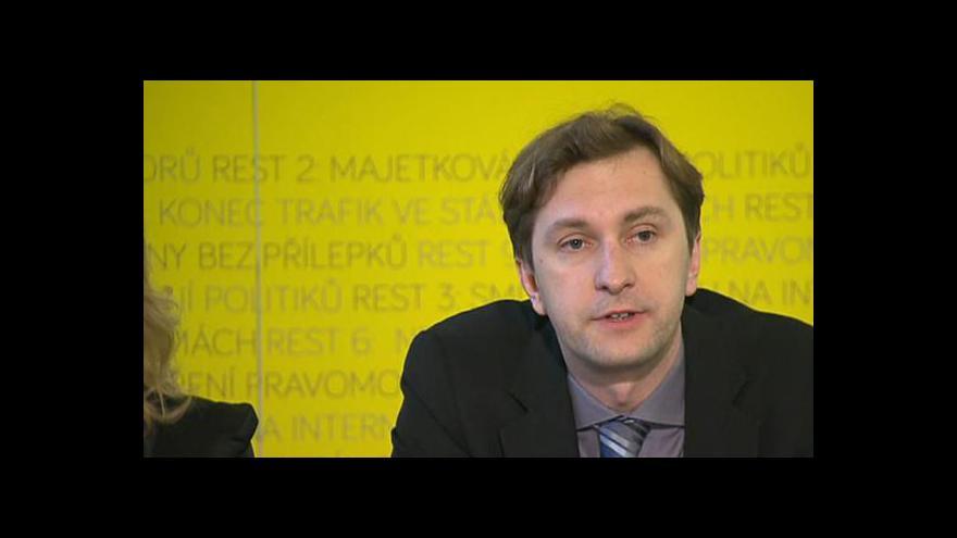 Video Brífink k zahájení projektu Rekonstrukce státu