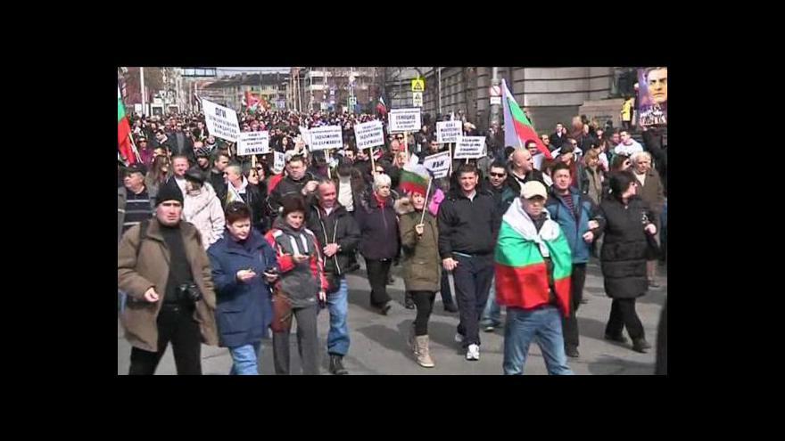 Video Bulharskou vládu nahradí odborníci. Začnou od píky