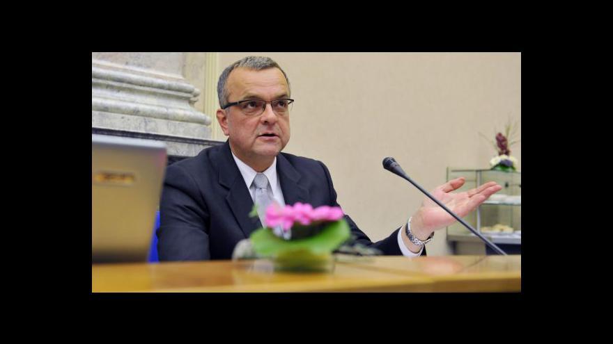 Video Miroslav Kalousek o podpoře exportu
