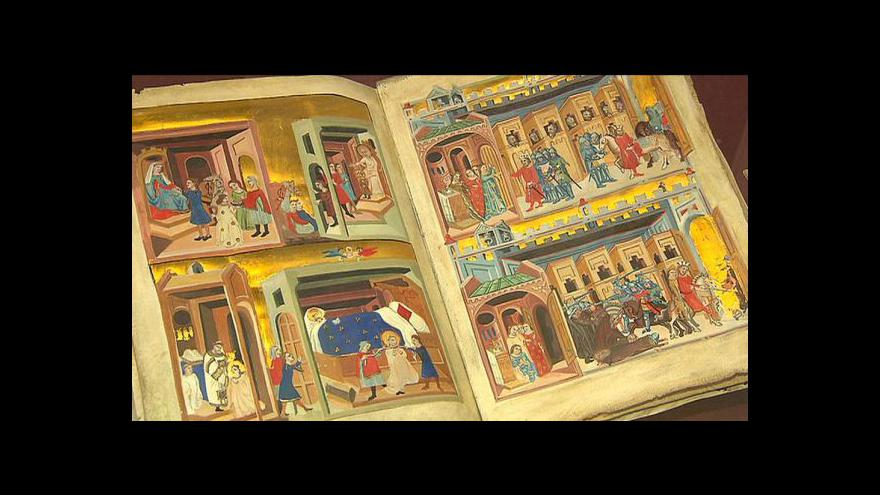 Video Svatý Václav v komiksu