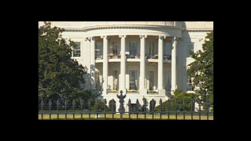 Video Reportáž o zavření Bílého domu